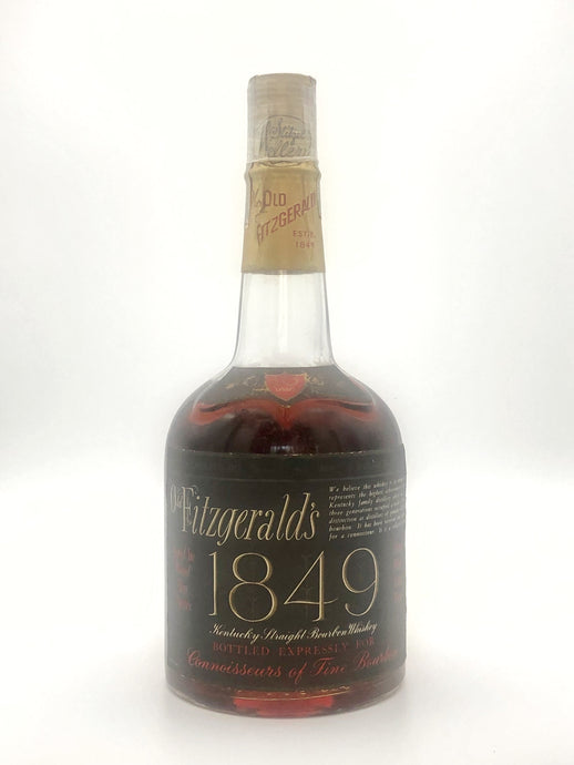 Old Fitzgerald's 1849 10 Year - Stitzel Weller Bottled in 1970