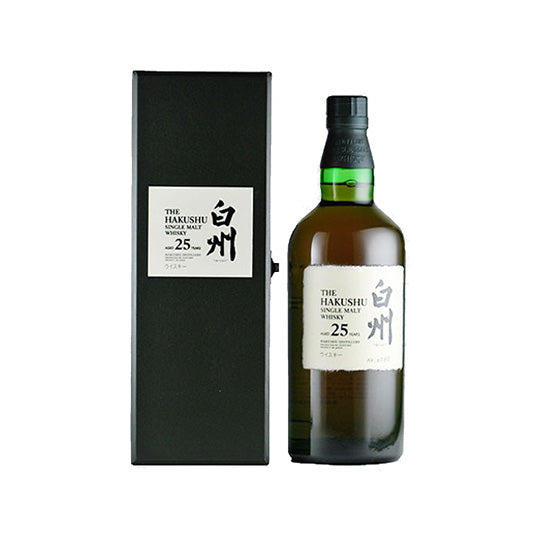 Hakushu 25 Year Old Single Malt Whisky - 700ml