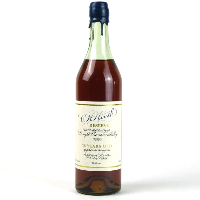 A.H. Hirsch 1974 16 Year Straight Bourbon Whiskey - Blue Wax