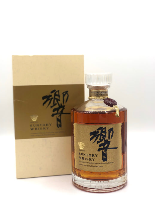 Suntory Hibiki 1998 Gold Label - Red Medallion with Display Box - 750ml