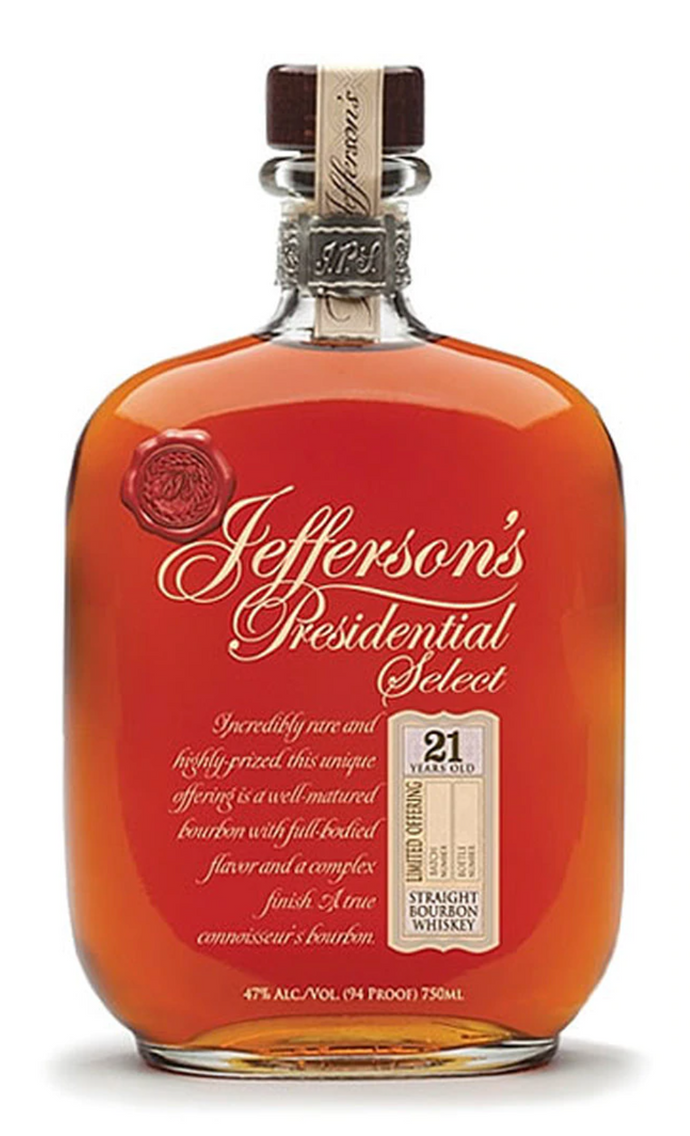 Jefferson's Presidential Select 21 Year Old Bourbon - 750ml