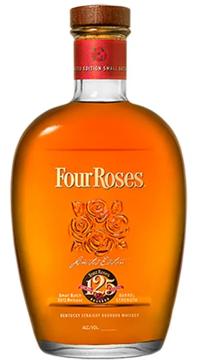 Four Roses 2013 Limited Edition Small Batch Barrel Strength Bourbon Whiskey 125th Anniversary - 750ml