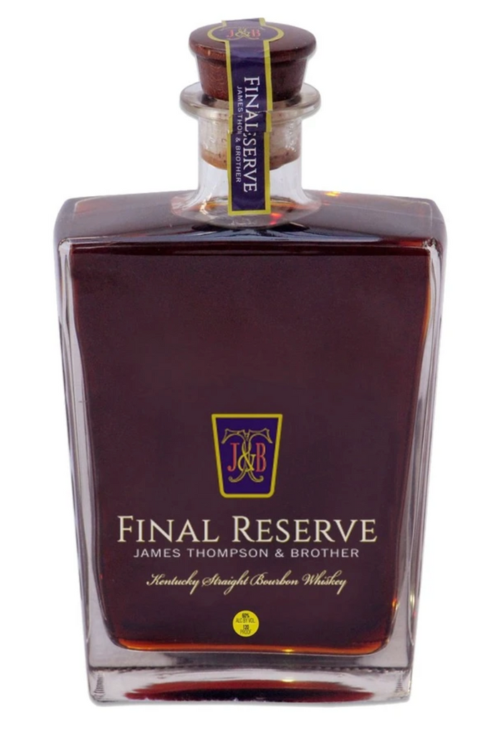 James Thompson & Brother Final Reserve 44 Year old Bourbon - 750ml
