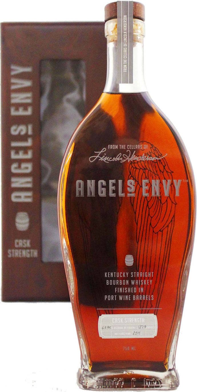 Angel's Envy Cask Strength Limited Edition 2015 with Display Box