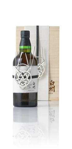 Hakushu 25 Year Old Single Malt Whisky Limited Edition - 700ml