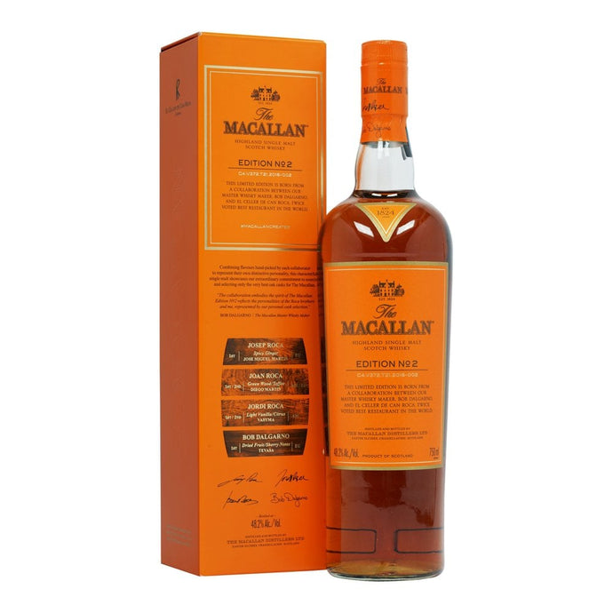 Macallan Edition No 2 - 750ml