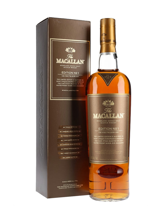 Macallan Edition No 1 - 750ml