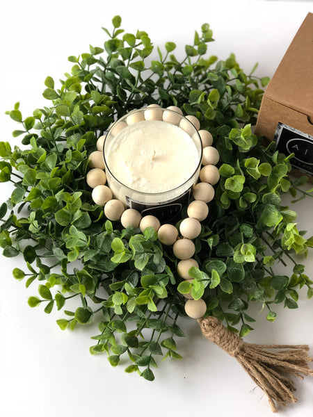 Candle Gift Set, Boxed Home Decor Gift Set, Modern Farmhouse Gifts - Ash & Hart Floral