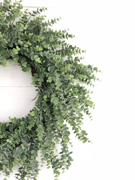 Eucalyptus Wreath, Eucalyptus Door Wreath, Front Door Wreath, Front Door Decor - Ash & Hart Floral