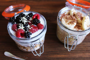 Overnight Steel Cut Oats - Easy Breakfast On The Go