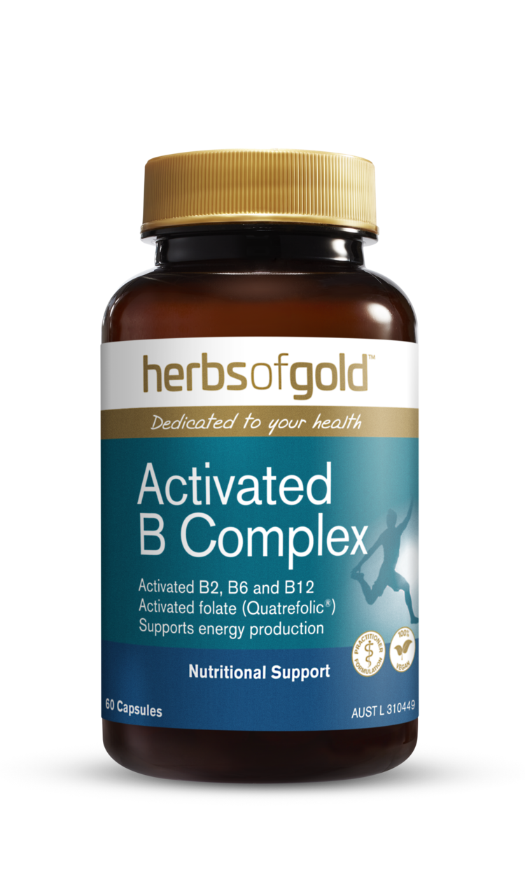 Herbs of Gold Activated B Complex - Super Nutrition