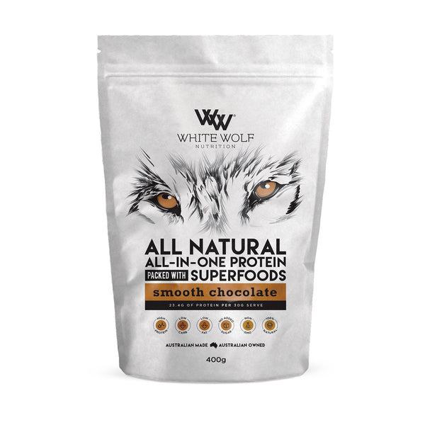 White Wolf – All Natural All-In-One Whey Blend Protein - Super Nutrition