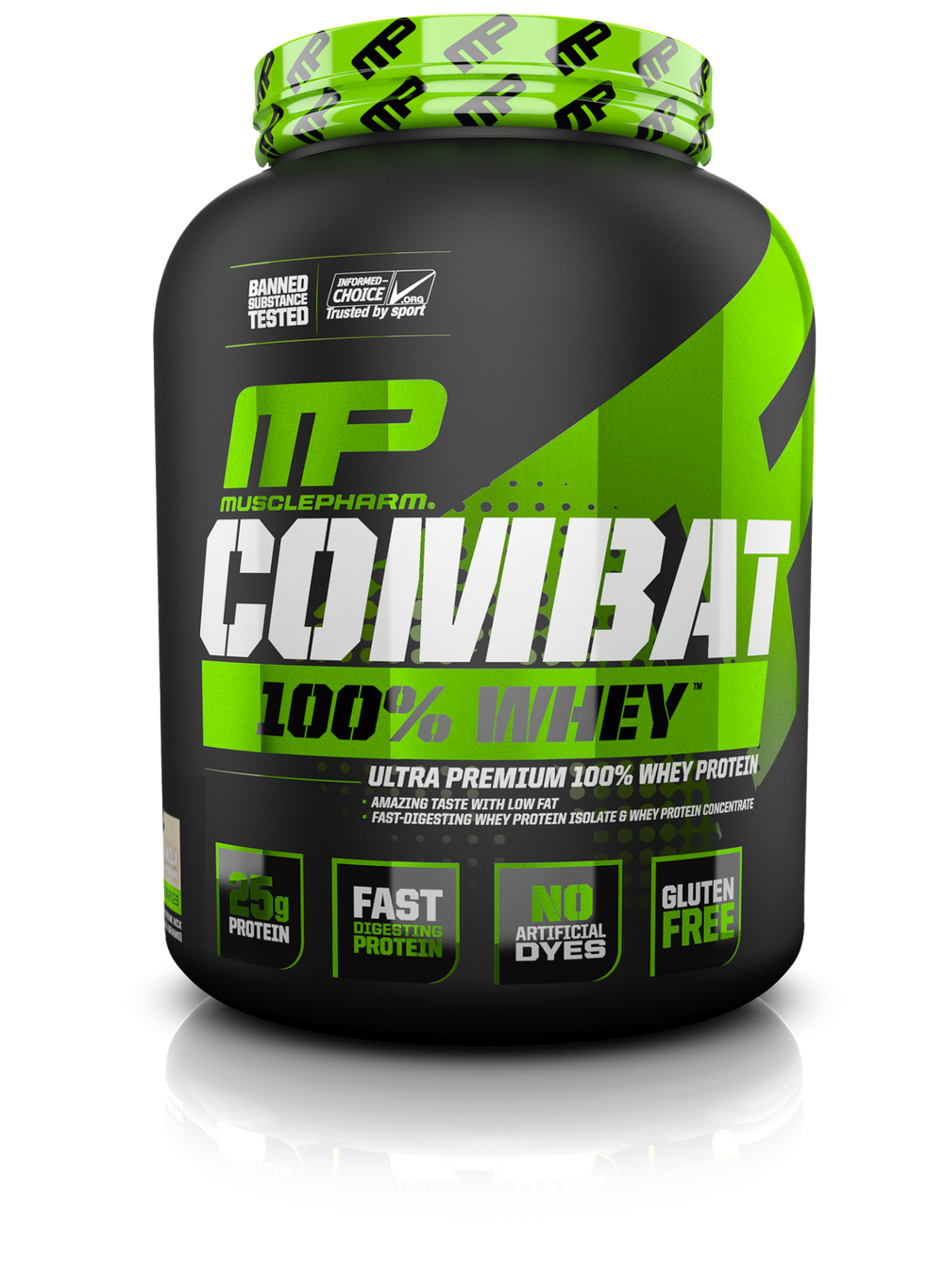 MusclePharm Combat 100%  Whey - Super Nutrition