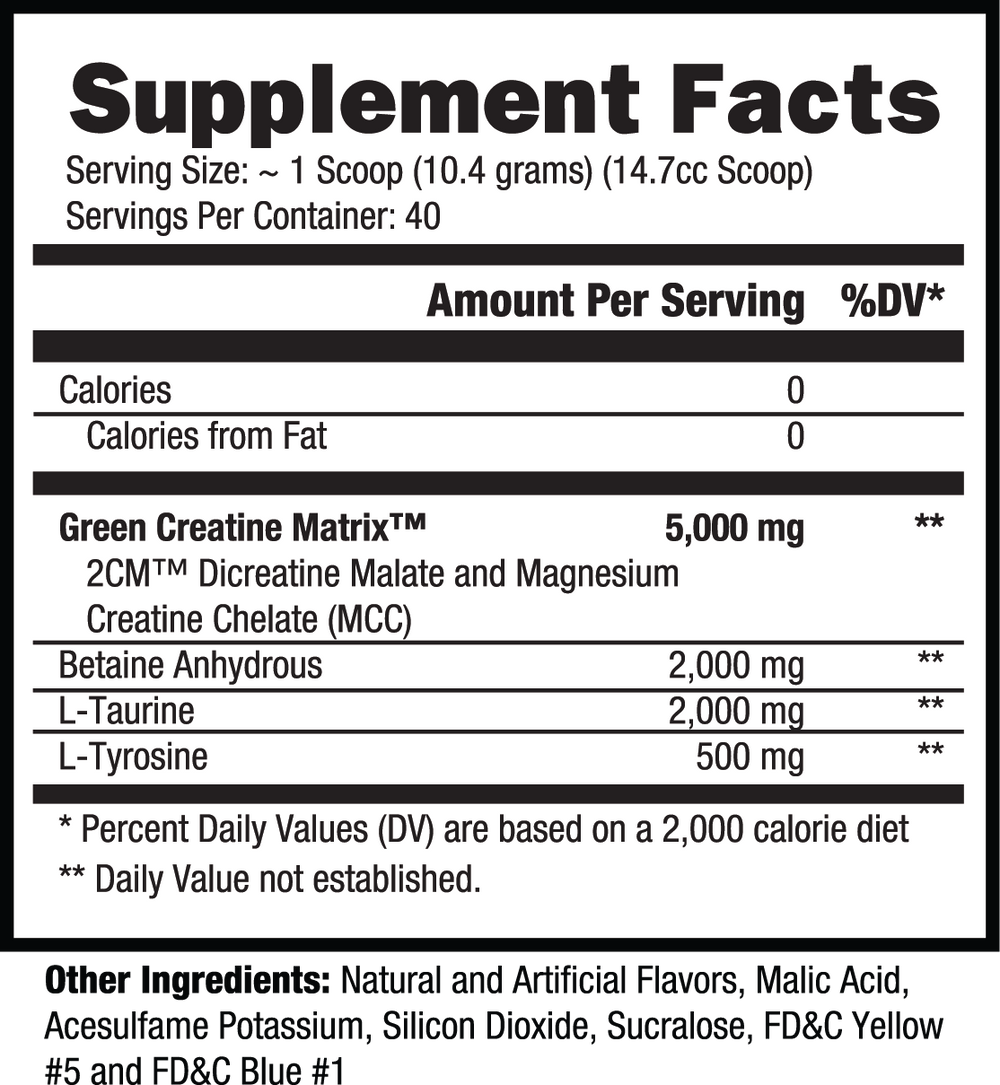Controlled Labs Green Magnitude (40 Serve) - Super Nutrition