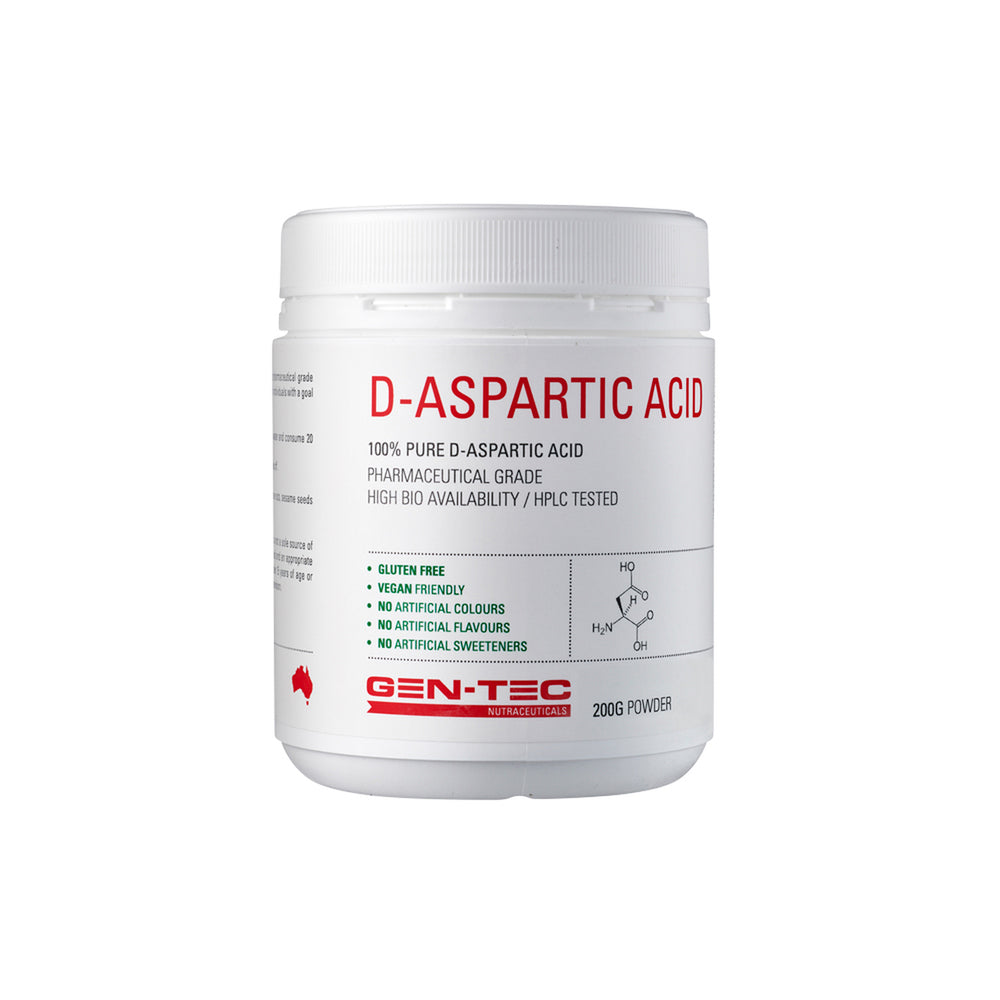 Gen - Tec D - Aspartic Acid - Super Nutrition