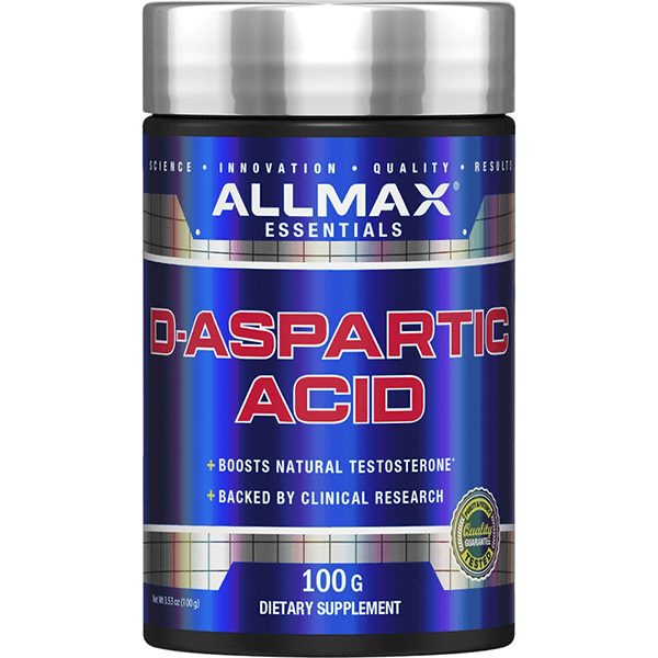 Allmax D-Aspatric Acid 100g - Super Nutrition
