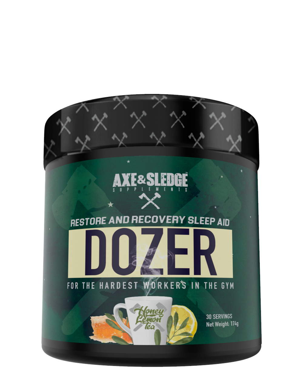 Axe & Sledge DOZER - Honey Lemon Tea - Super Nutrition