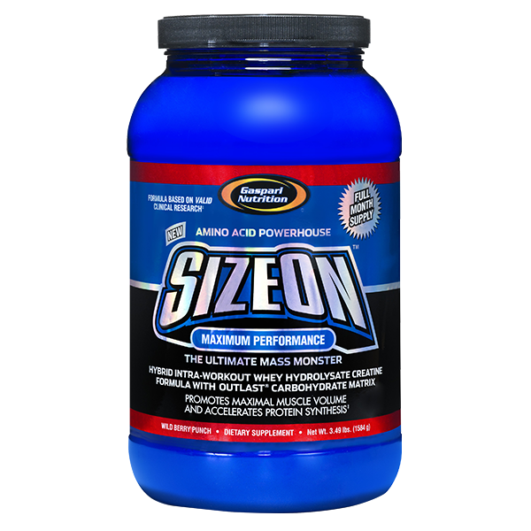 Gaspari Nutrition Size On Maximum performance 1580g - Super Nutrition