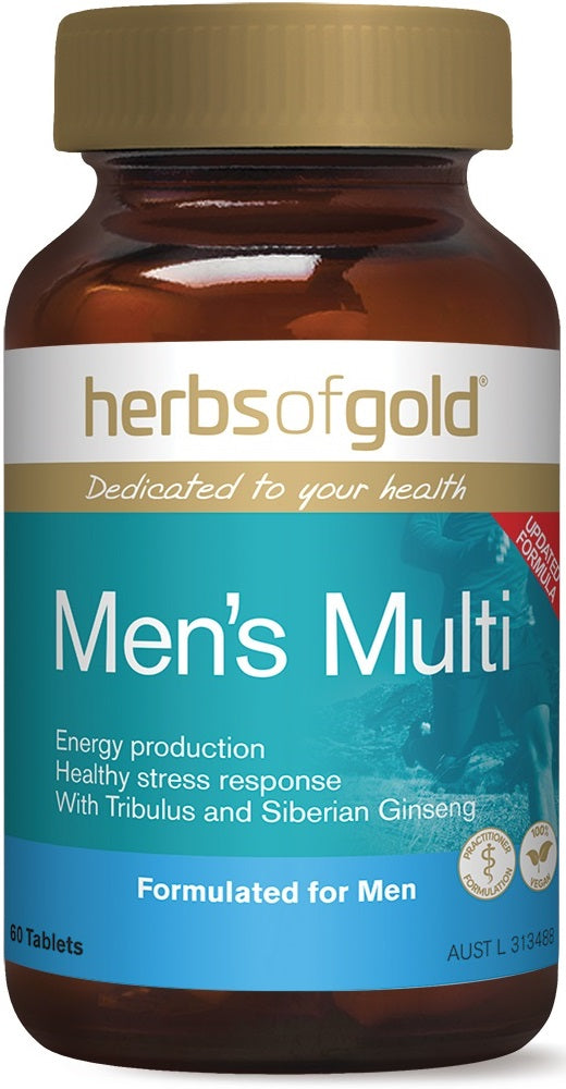 Herbs of Gold Men's Multi - Super Nutrition