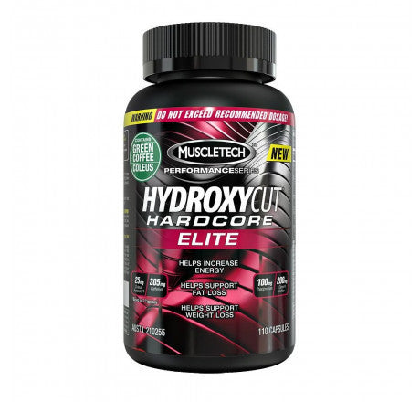MuscleTech - Hydroxycut Hardcore Elite110 Capsules - Super Nutrition
