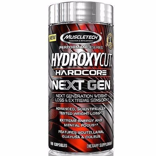 MuscleTech - Hydroxycut Hardcore Next Gen - Super Nutrition