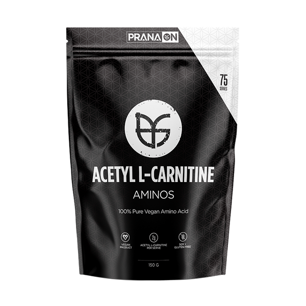 Prana On Acetyl L-Carnitine - Super Nutrition