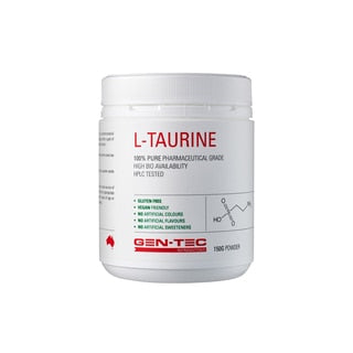 Gen - Tec Taurine (VEGAN) - Super Nutrition