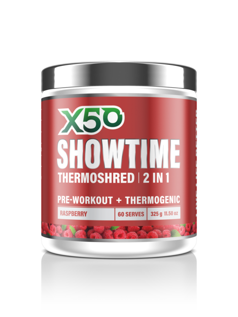 X50 Showtime - Super Nutrition
