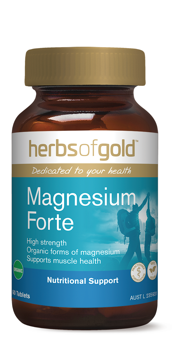 Herbs of Gold Magnesium Forte - Super Nutrition