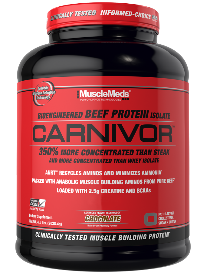 CARNIVOR BY MUSCLEMEDS - BEEF PROTEIN ISOLATE - Super Nutrition