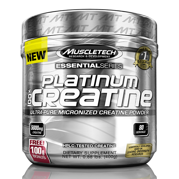 MuscleTech Platinum 100% Creatine - Super Nutrition