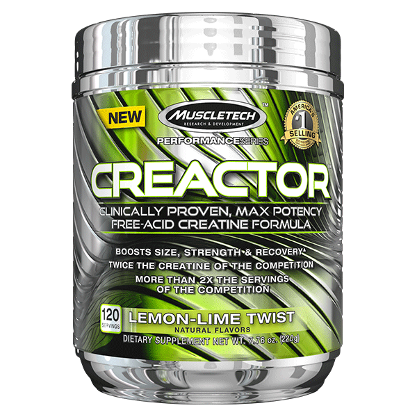MuscleTech Creactor 120 Serve - Super Nutrition