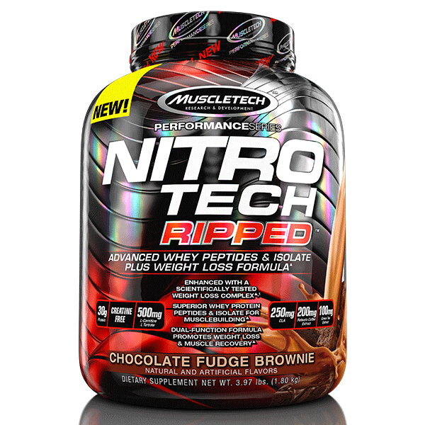 Muscle Tech Nitro Tech Ripped - Super Nutrition