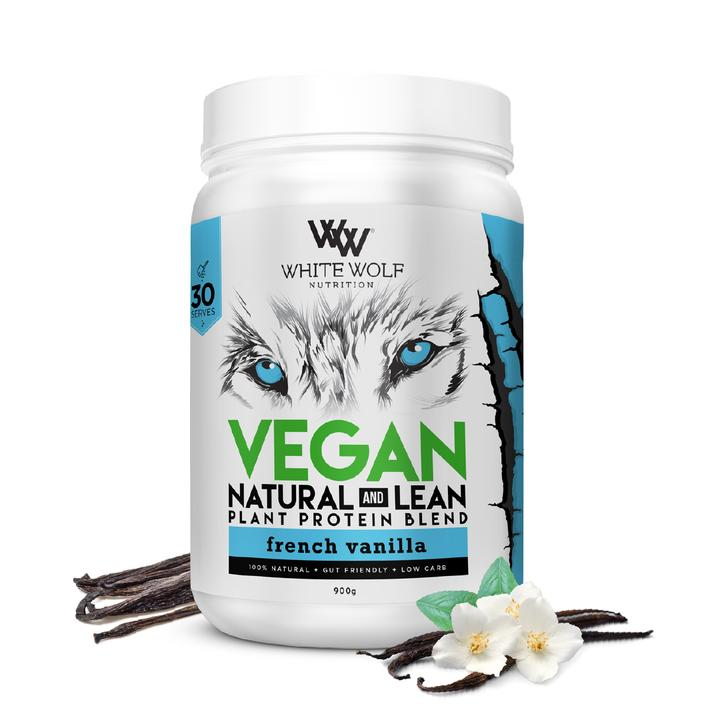 White Wolf Natural + Lean Vegan Protein Blend - Super Nutrition