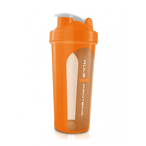 Rule 1 Transparent Rubber Grip Shaker - Super Nutrition
