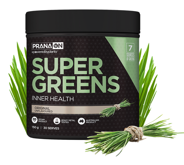 Prana ON Super Greens 150g - Super Nutrition