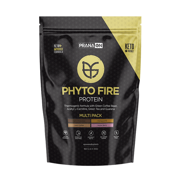 Prana On Phyto Fire Protein Multi Pack (4 x 40g) - Super Nutrition