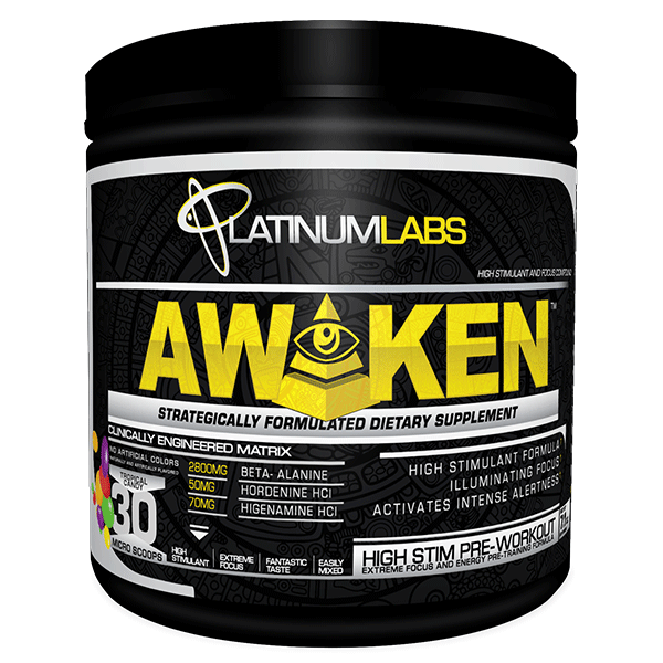 Platinum Labs - Awaken 30 Serve - Super Nutrition