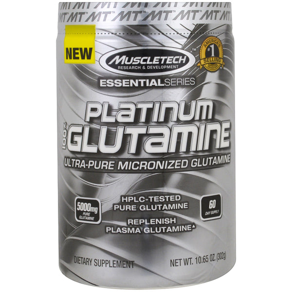 Muscle Tech Platinum Glutamine 60 Serve - Super Nutrition