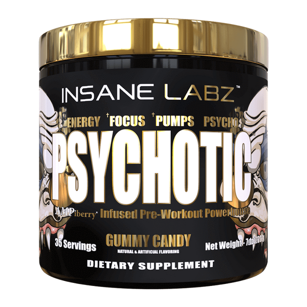 Insane Labz Psychotic Gold - Super Nutrition