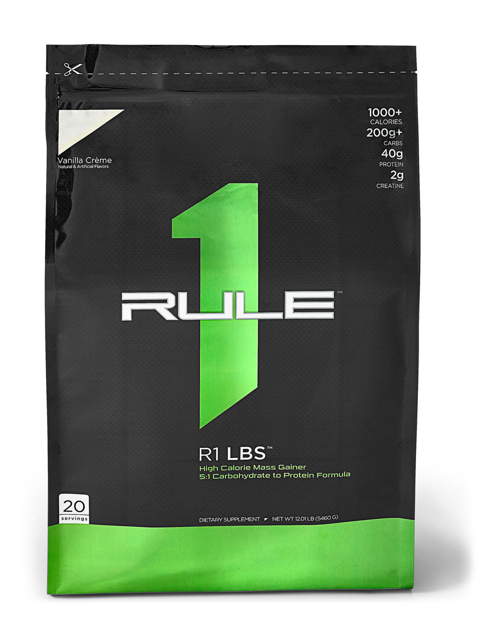 Rule 1 Proteins R1 LBS Mass Gainer - Super Nutrition