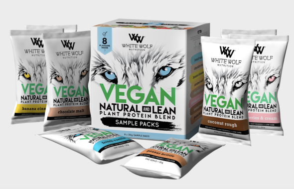 White Wolf Vegan Natural & Lean Protein Sample Box - Super Nutrition
