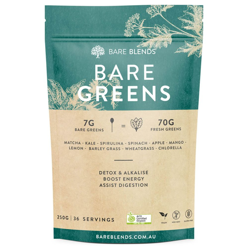 Bare Blends Bare Greens - Super Nutrition