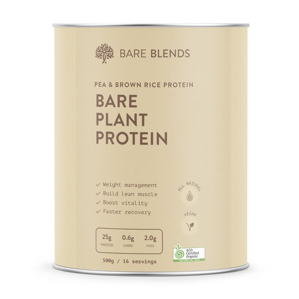 Bare Blends Bare Plant Protein - Super Nutrition