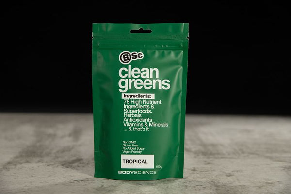 BSc Clean Greens - Super Nutrition