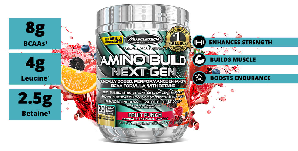 MuscleTech Amino Build Next Gen - Super Nutrition