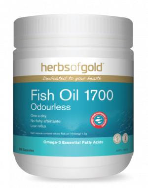 Herbs of Gold Fish Oil 1700 - Super Nutrition