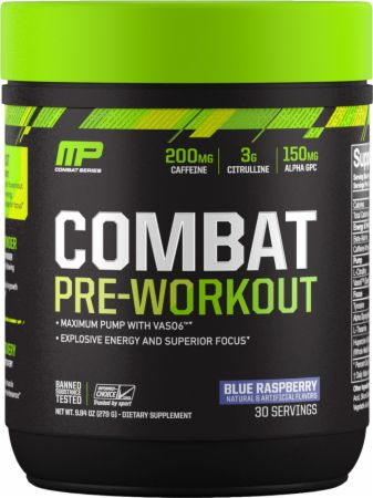 MusclePharm Combat Pre - Workout - Super Nutrition