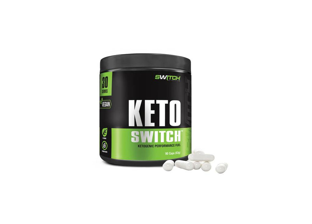 KETO SWITCH 90 CAPSULES - Super Nutrition