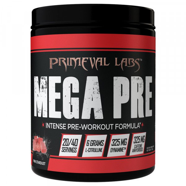Primeval Labs Mega Pre Black - Super Nutrition